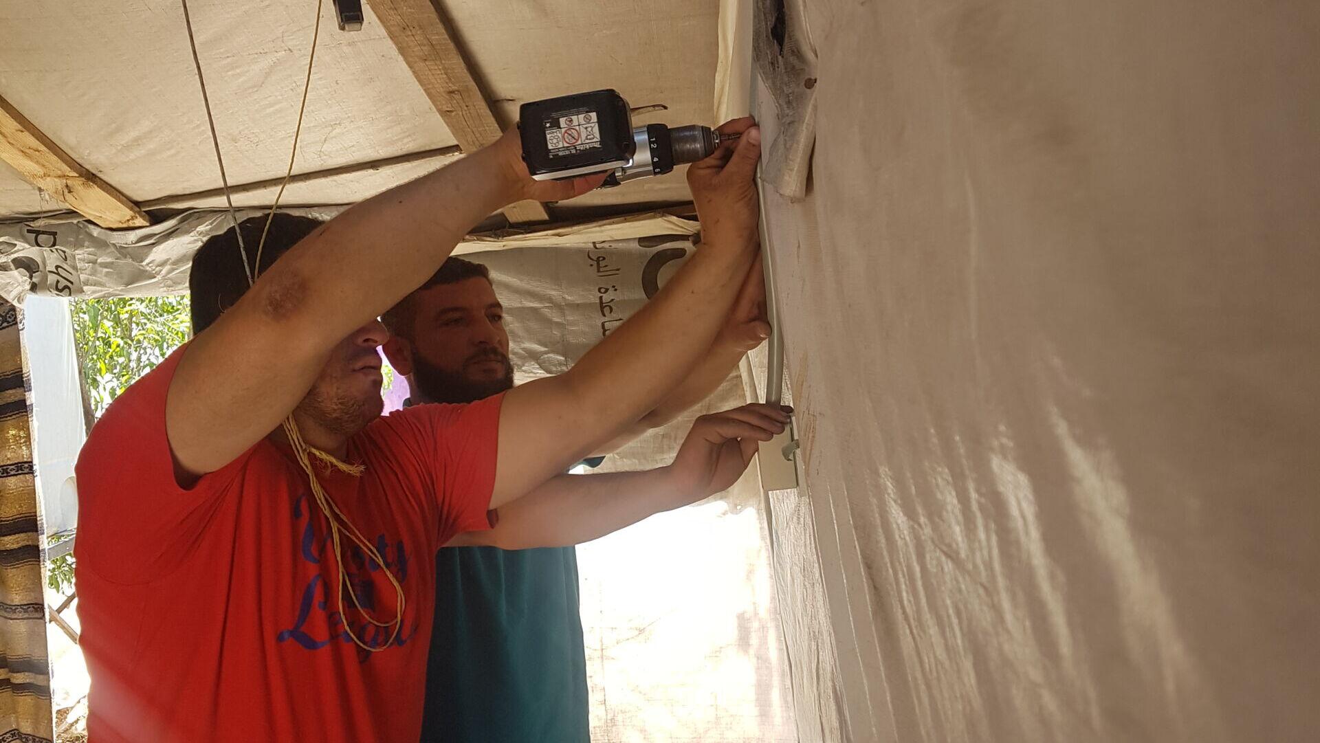 Elektroarbeiten im Libanon